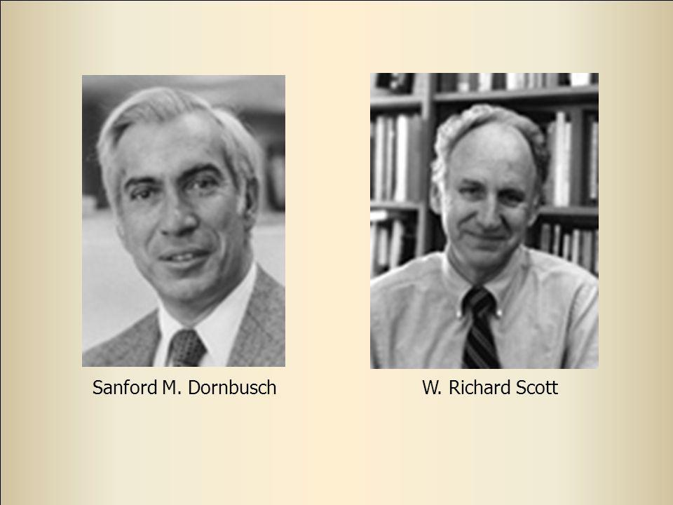 Sanford M. Dornbusch W. Richard Scott