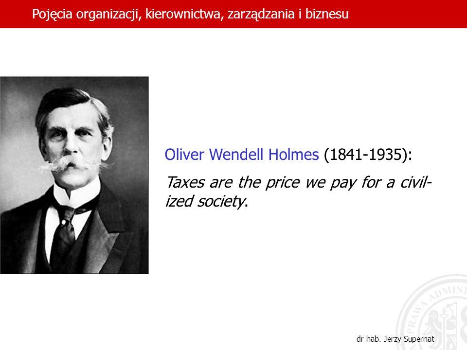 Oliver Wendell Holmes (1841-1935):
