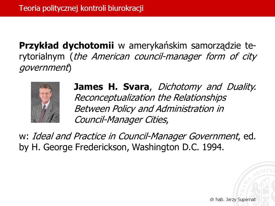 Teoria politycznej kontroli biurokracji