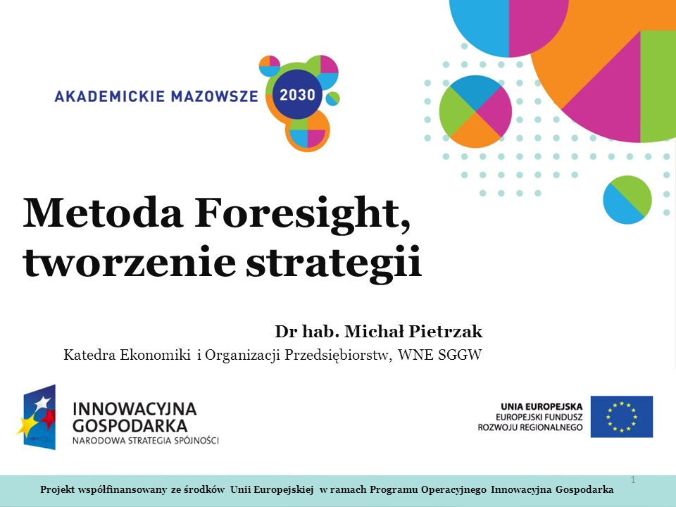 Metoda Foresight, tworzenie strategii
