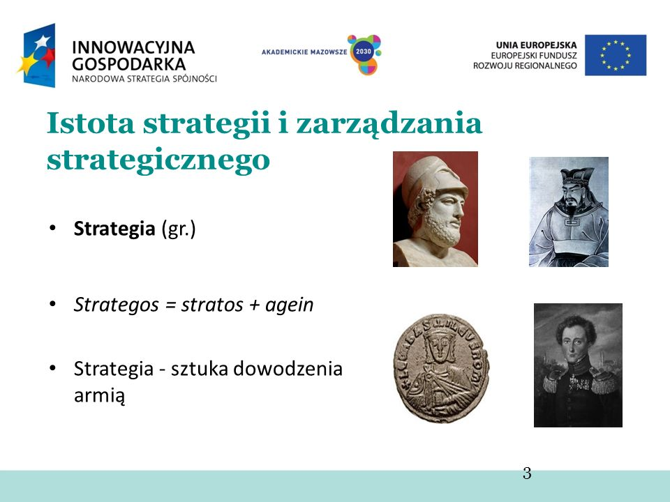 Istota strategii i zarządzania strategicznego
