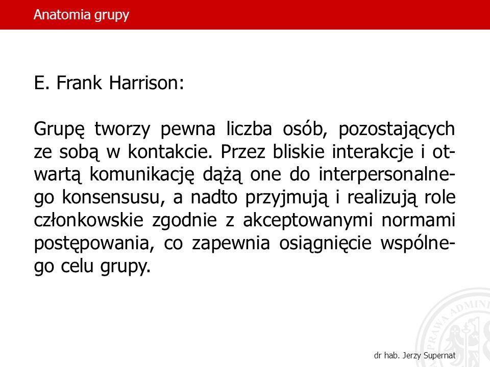 Anatomia grupy E. Frank Harrison: