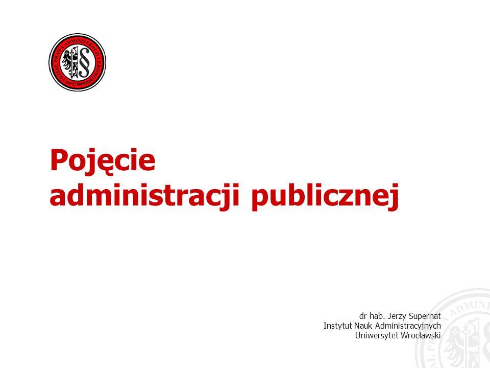 administracji publicznej