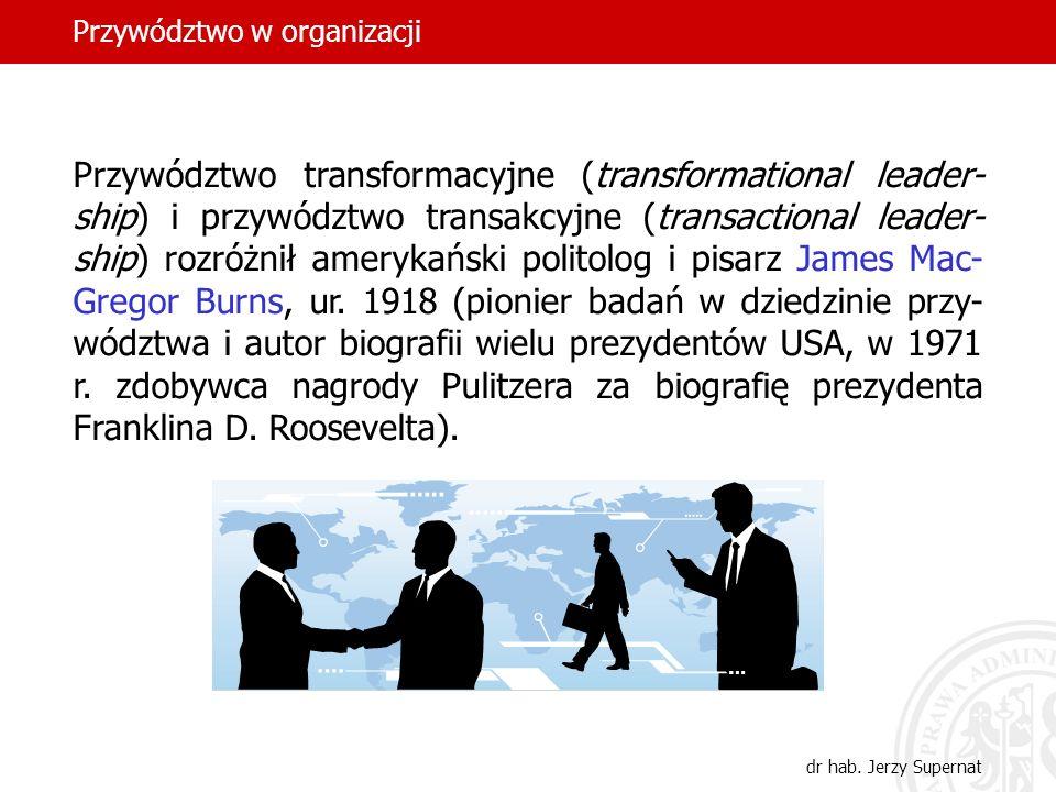 Przywództwo w organizacji