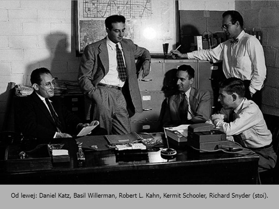 Od lewej: Daniel Katz, Basil Willerman, Robert L