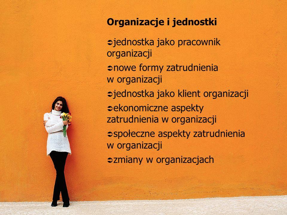 Organizacje i jednostki