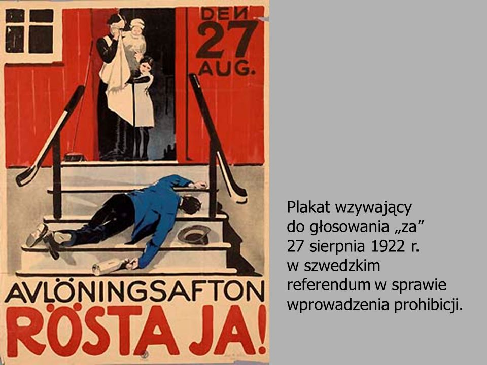 """Plakat wzywający do głosowania """"za 27 sierpnia 1922 r"""