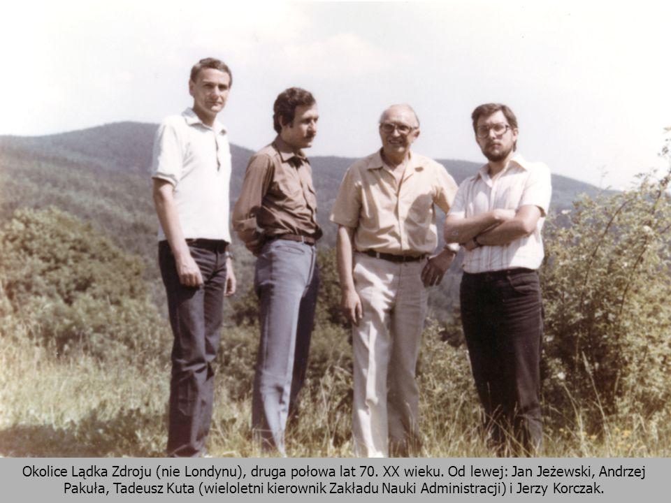 Okolice Lądka Zdroju (nie Londynu), druga połowa lat 70. XX wieku