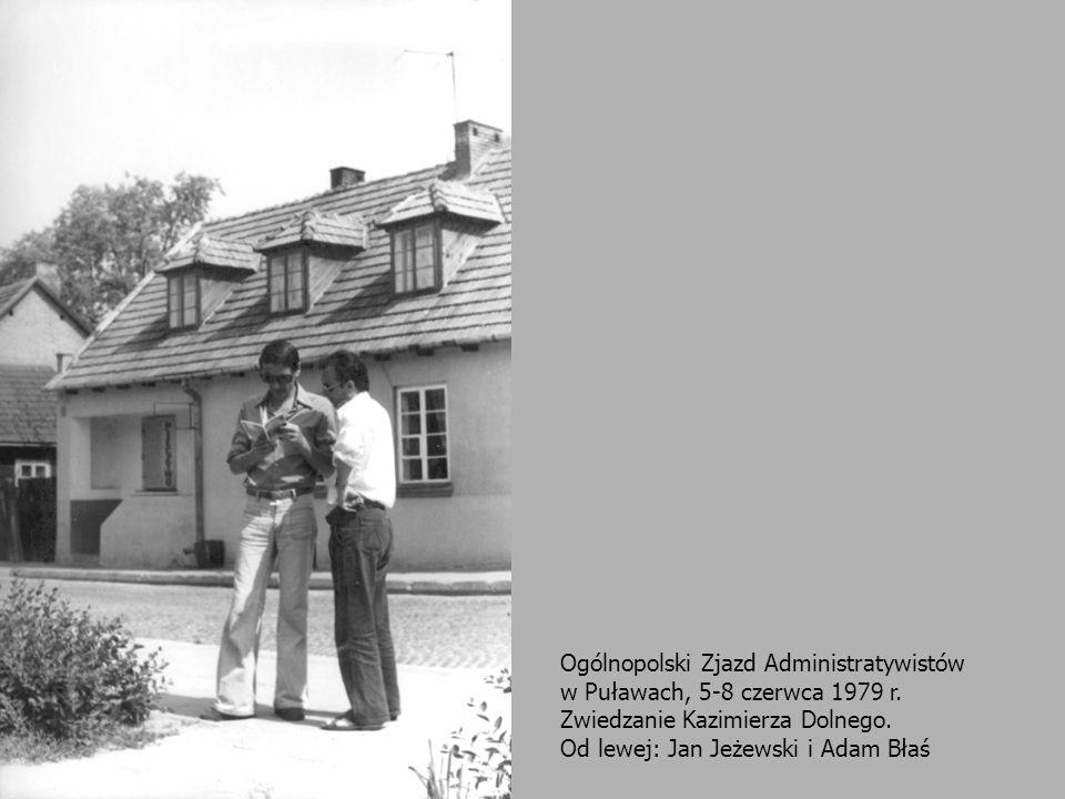 Ogólnopolski Zjazd Administratywistów w Puławach, 5-8 czerwca 1979 r