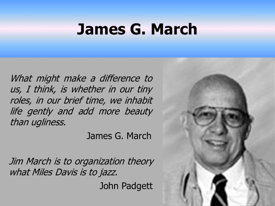 James G. March