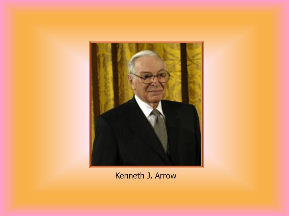 Kenneth J. Arrow