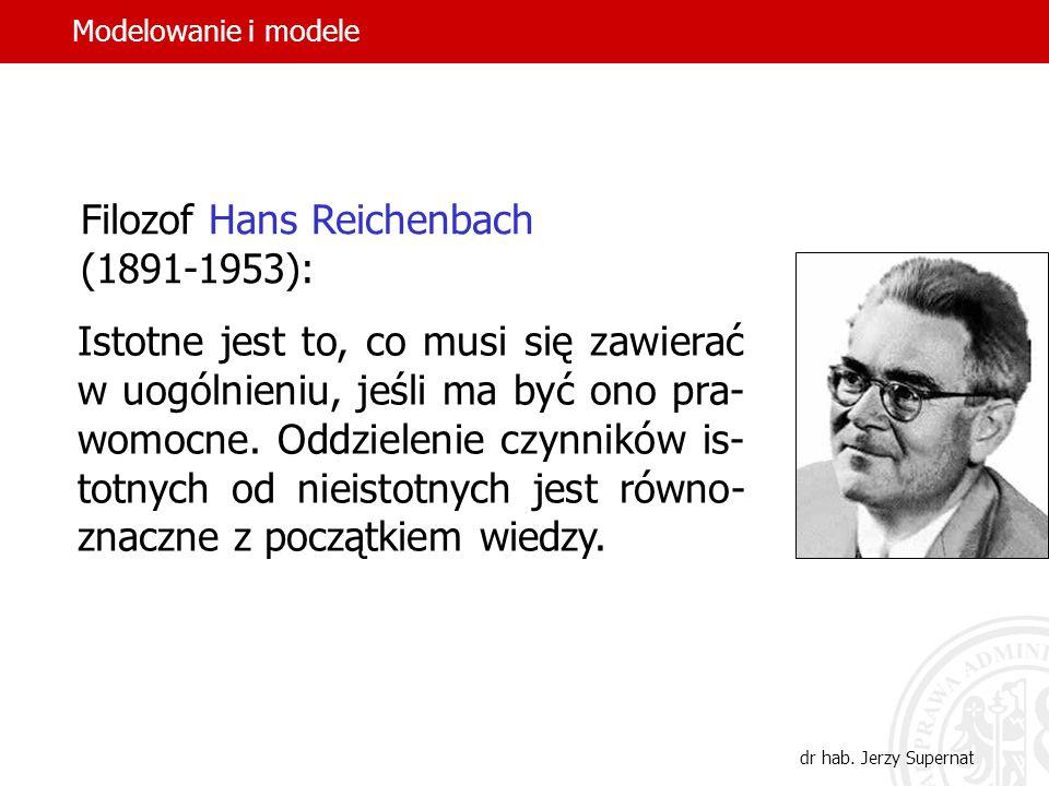 Filozof Hans Reichenbach (1891-1953):