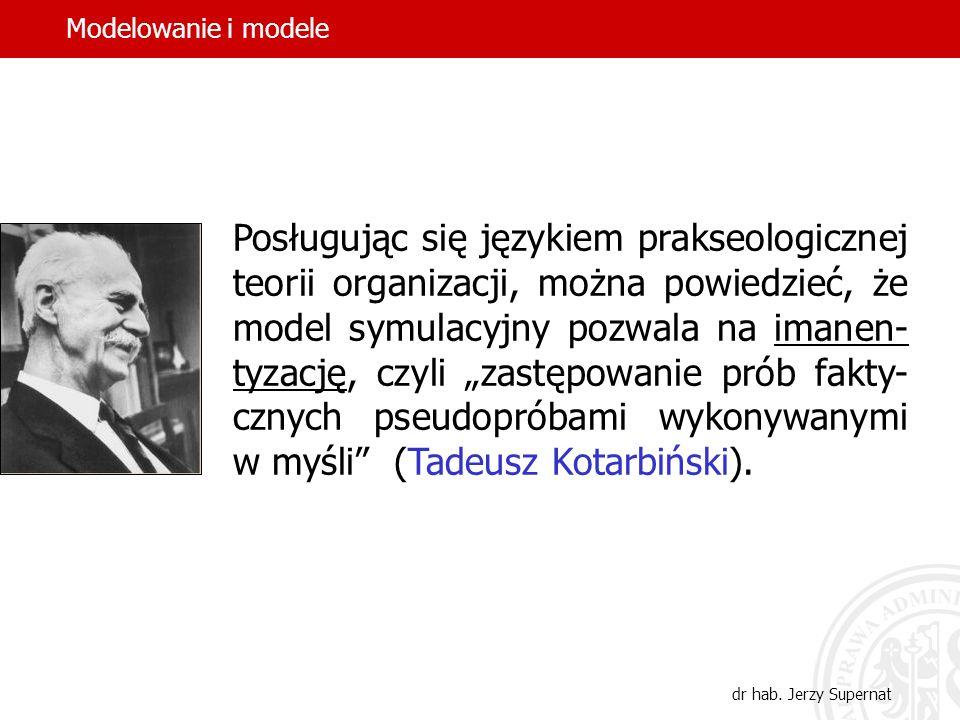 Modelowanie i modele Modelowanie i modele.