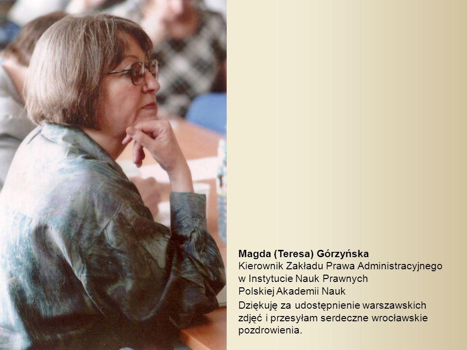 Magda (Teresa) Górzyńska