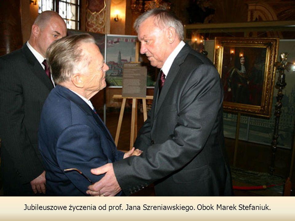 Jubileuszowe życzenia od prof. Jana Szreniawskiego