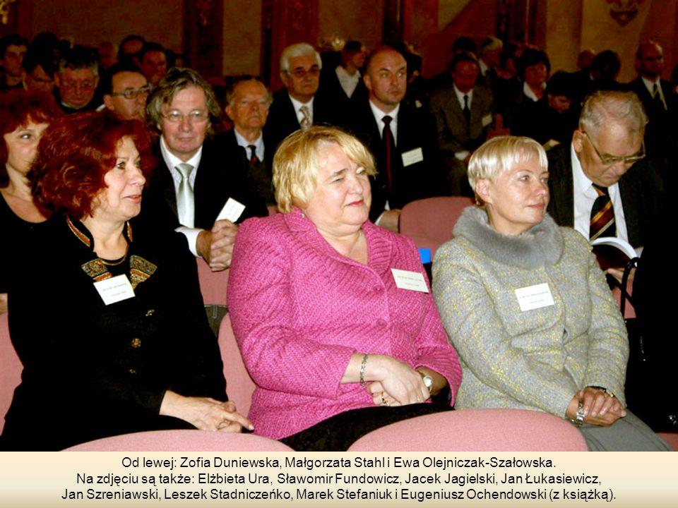 Od lewej: Zofia Duniewska, Małgorzata Stahl i Ewa Olejniczak-Szałowska.