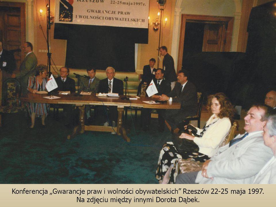 Na zdjęciu między innymi Dorota Dąbek.
