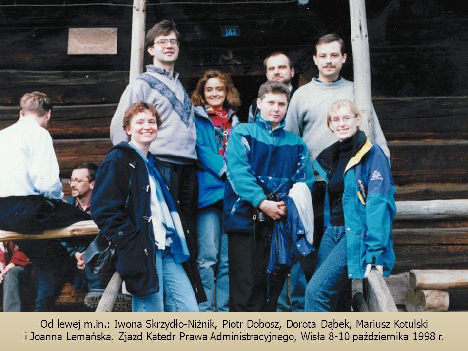 Od lewej m.in.: Iwona Skrzydło-Niżnik, Piotr Dobosz, Dorota Dąbek, Mariusz Kotulski