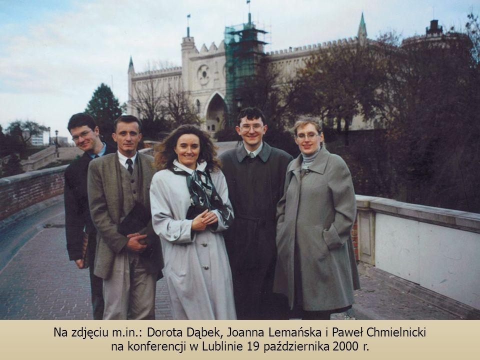 Na zdjęciu m.in.: Dorota Dąbek, Joanna Lemańska i Paweł Chmielnicki