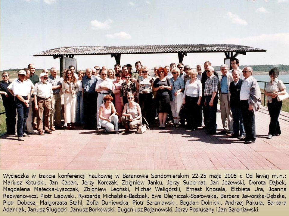 Wycieczka w trakcie konferencji naukowej w Baranowie Sandomierskim 22-25 maja 2005 r.