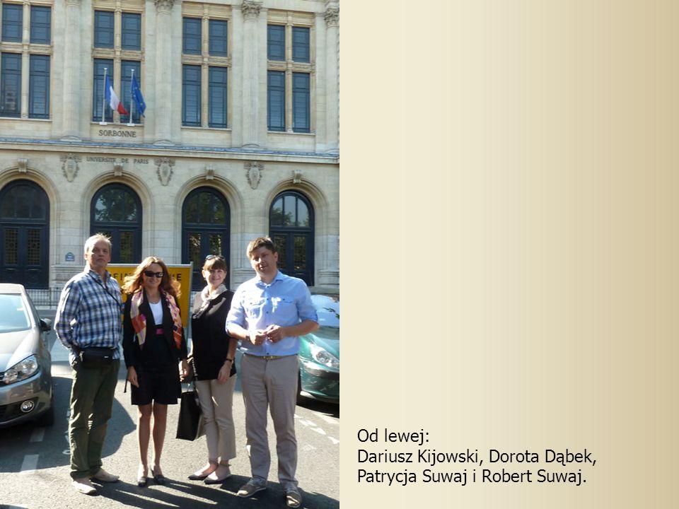 Od lewej: Dariusz Kijowski, Dorota Dąbek, Patrycja Suwaj i Robert Suwaj.