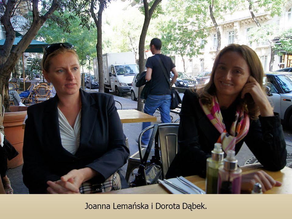 Joanna Lemańska i Dorota Dąbek.