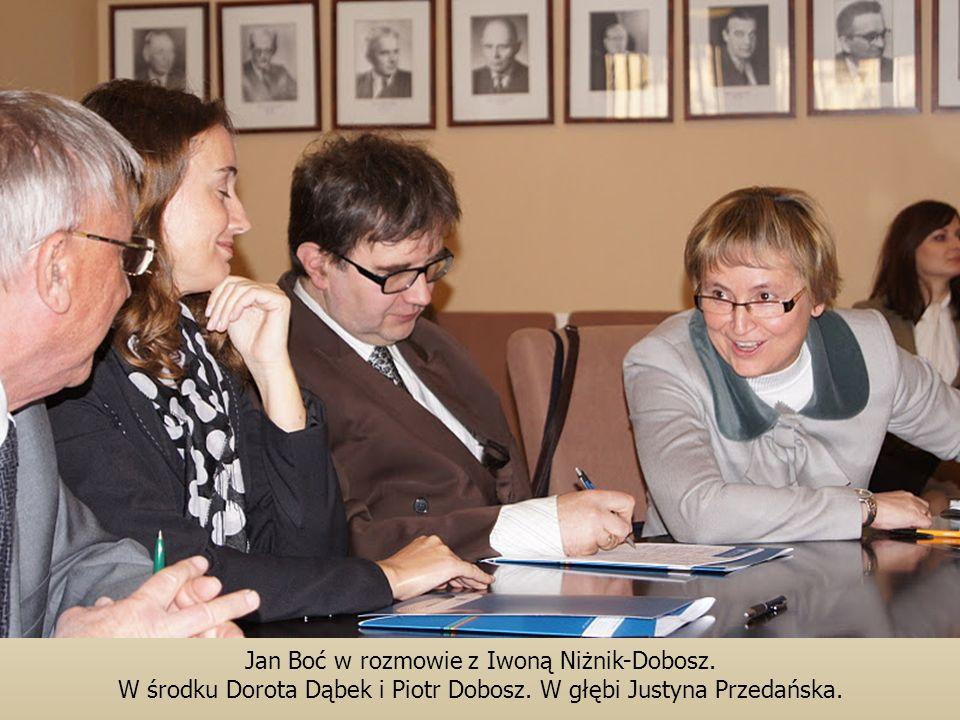 Jan Boć w rozmowie z Iwoną Niżnik-Dobosz.