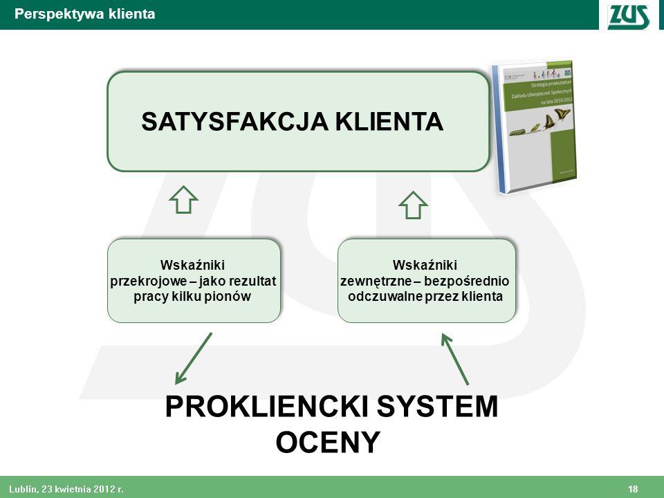 PROKLIENCKI SYSTEM OCENY