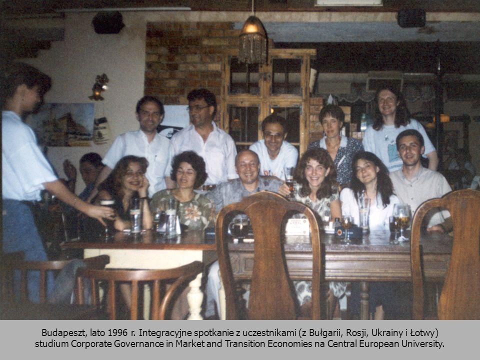 Budapeszt, lato 1996 r.