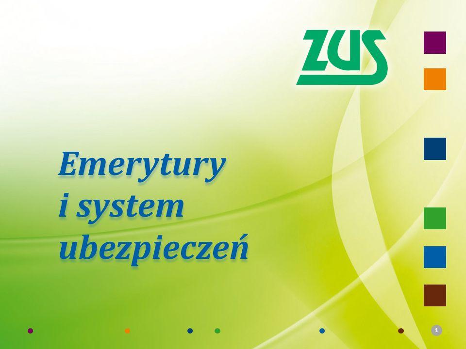 Emerytury i system ubezpieczeń