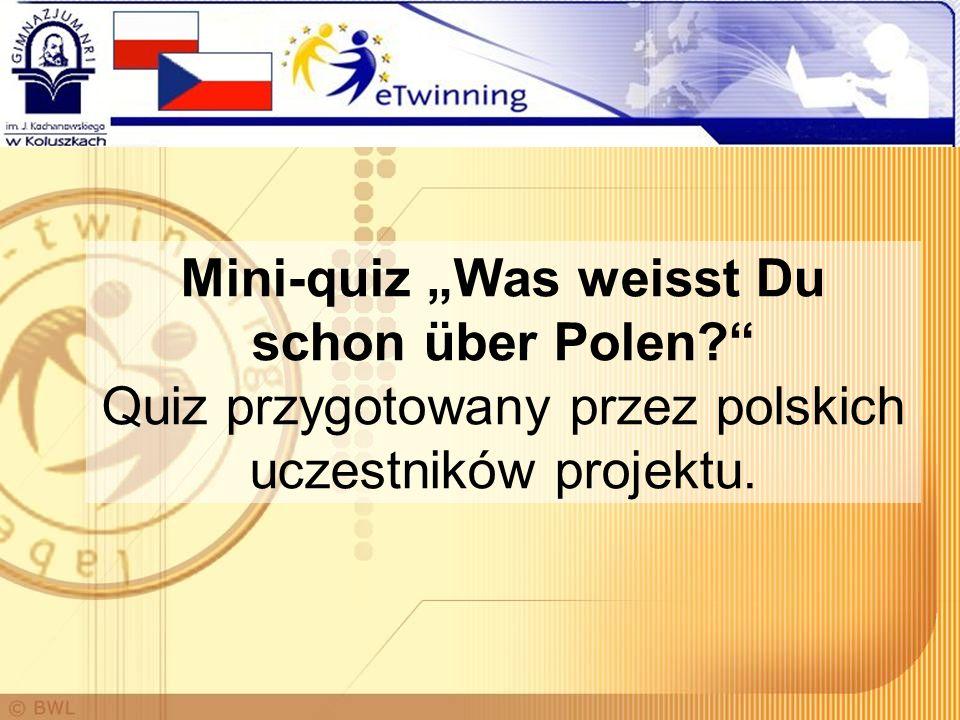 """Mini-quiz """"Was weisst Du schon über Polen"""