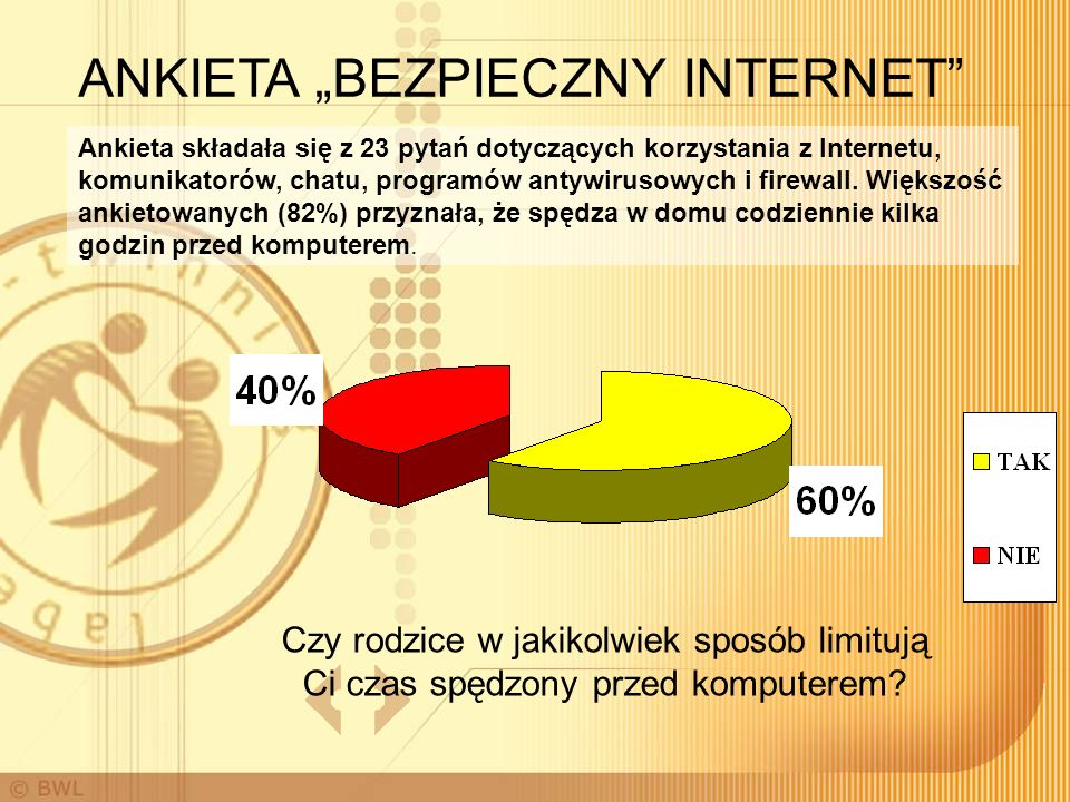 """ANKIETA """"BEZPIECZNY INTERNET"""