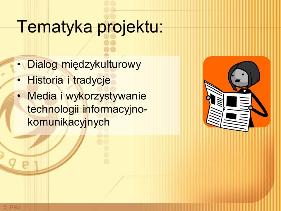 Tematyka projektu: Dialog międzykulturowy Historia i tradycje