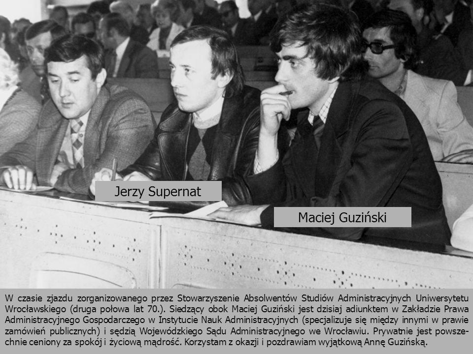 Jerzy Supernat Maciej Guziński