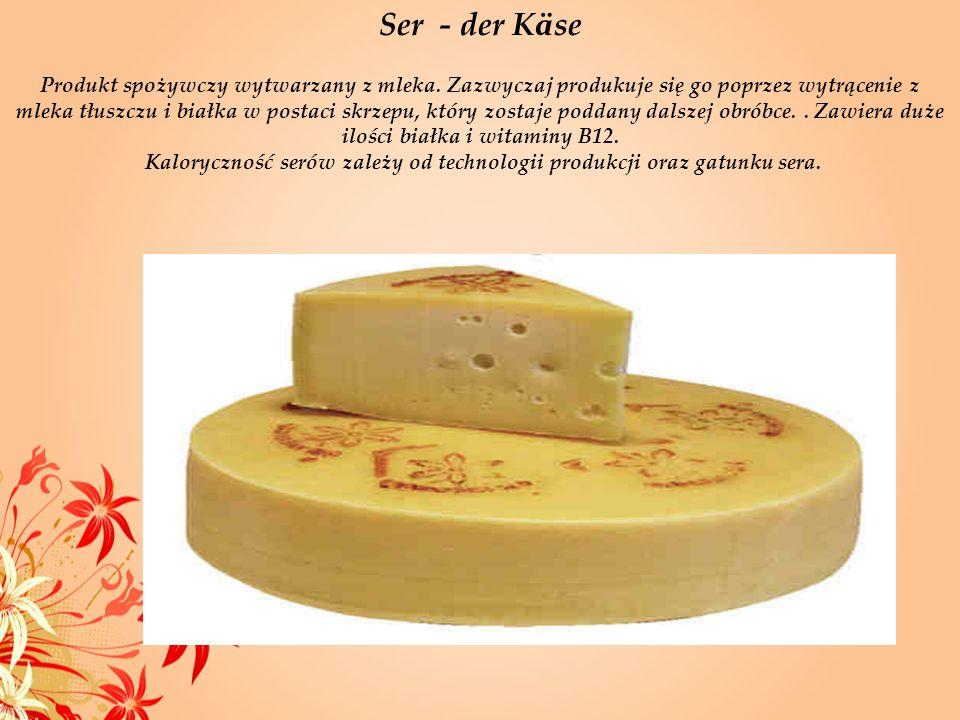 Ser - der Käse