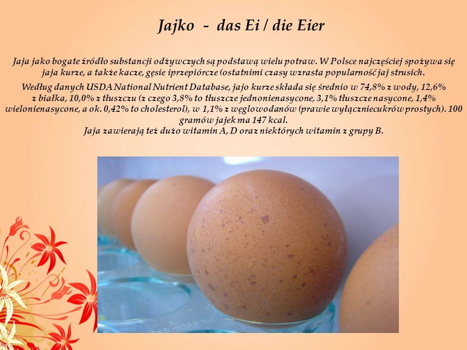 Jajko - das Ei / die Eier