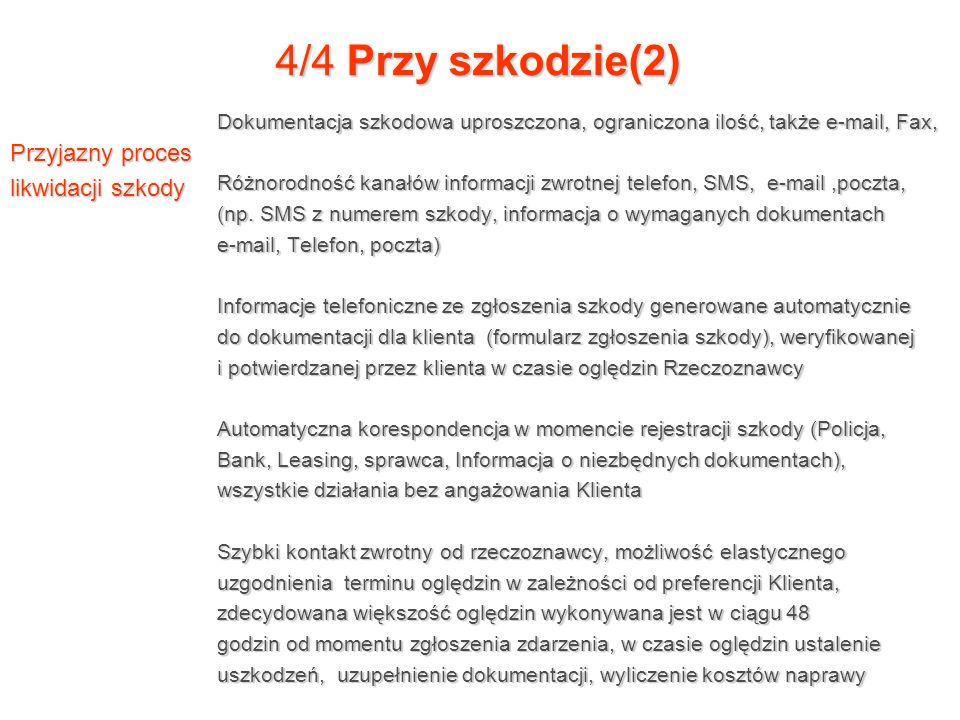4/4 Przy szkodzie(2) Przyjazny proces likwidacji szkody