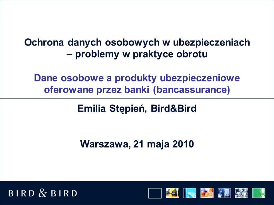 Emilia Stępień, Bird&Bird Warszawa, 21 maja 2010