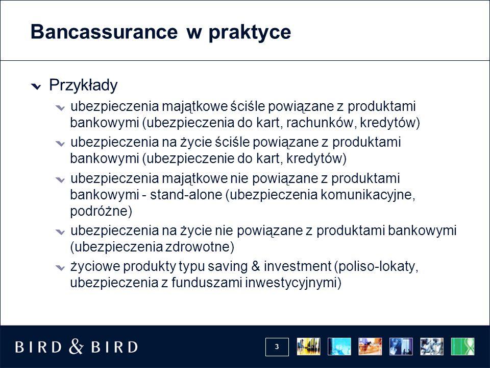 Bancassurance w praktyce