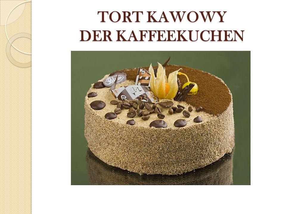TORT KAWOWY DER KAFFEEKUCHEN