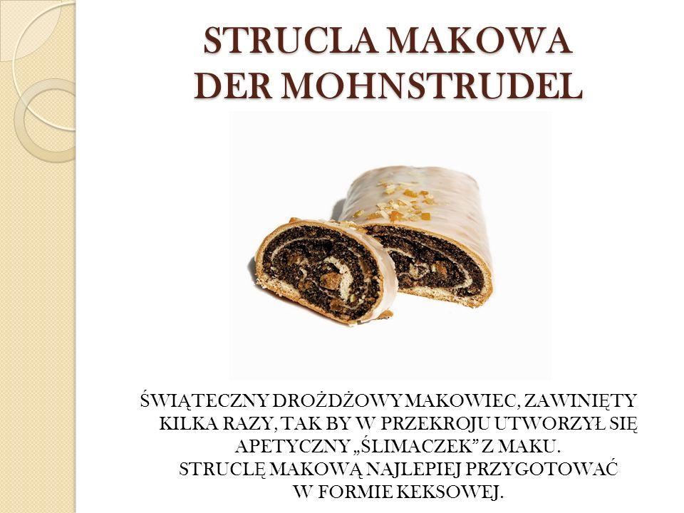 STRUCLA MAKOWA DER MOHNSTRUDEL