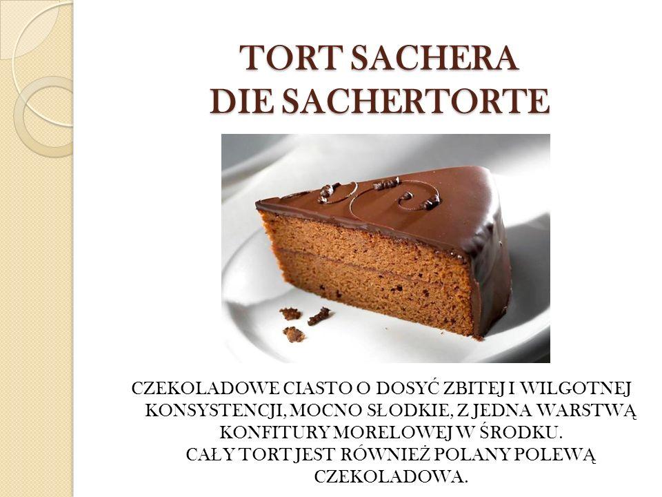 TORT SACHERA DIE SACHERTORTE