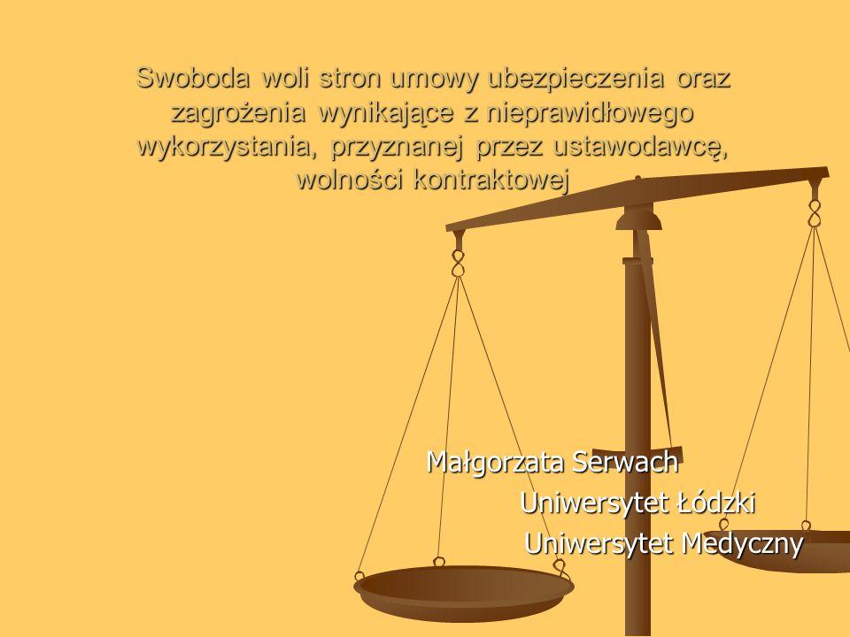 Małgorzata Serwach Uniwersytet Łódzki Uniwersytet Medyczny