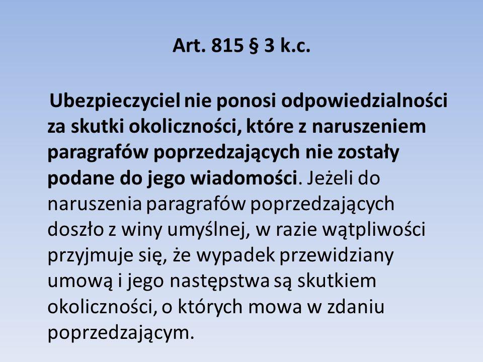 Art. 815 § 3 k.c.