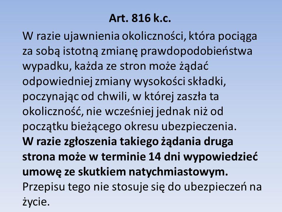 Art. 816 k.c.