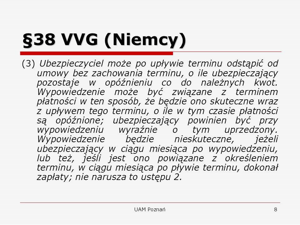 §38 VVG (Niemcy)
