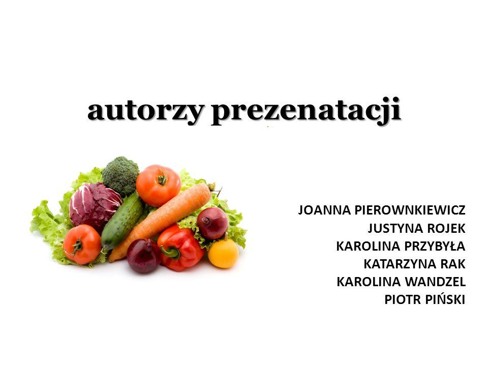autorzy prezenatacji Joanna pierownkiewicz justyna rojek Karolina przybyła Katarzyna rak Karolina wandzel piotr piński.