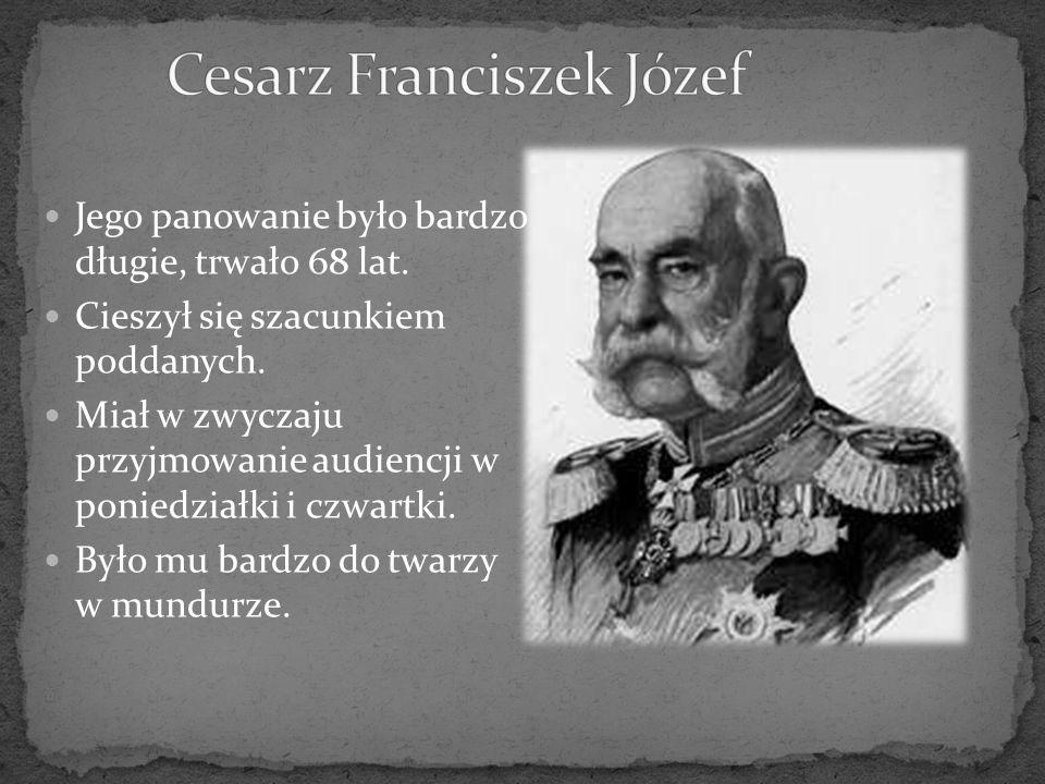 Cesarz Franciszek Józef