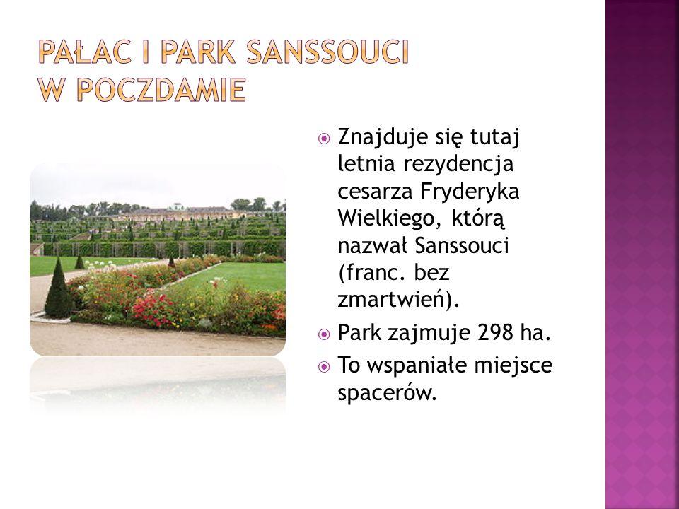 Pałac i Park Sanssouci w poczdamie