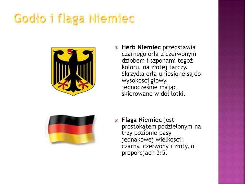 Godło i flaga Niemiec